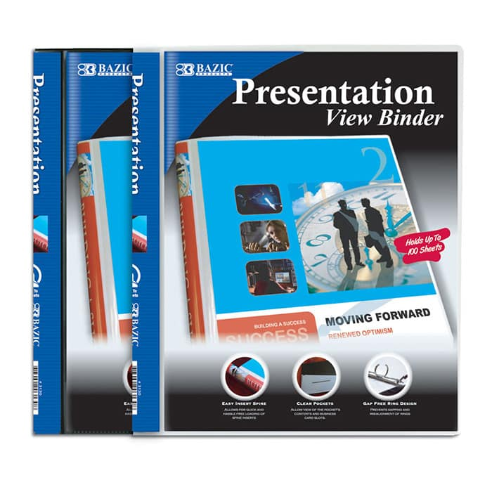 "Cheap 1/2"" Presentation 3 Ring Binder"