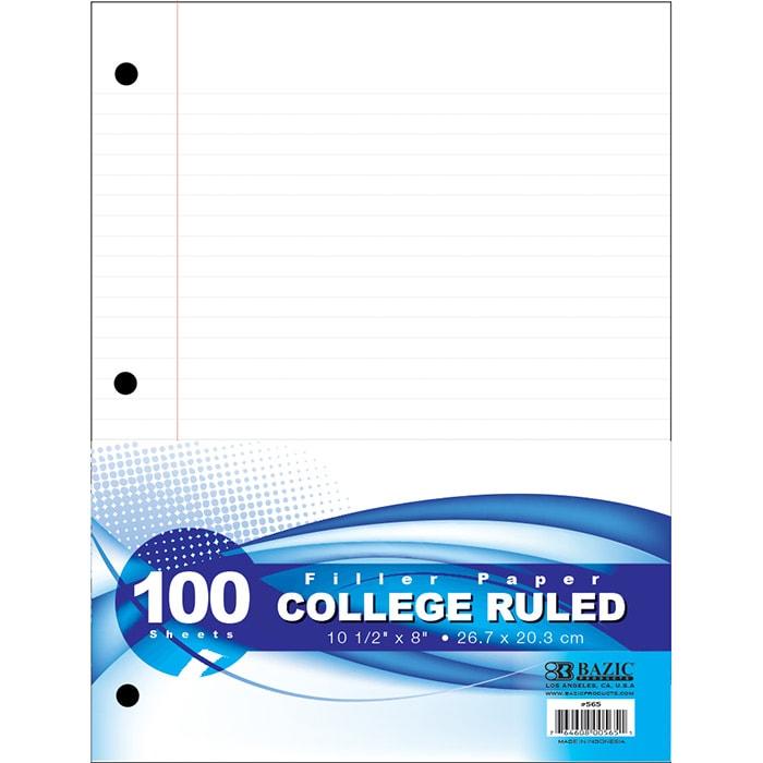 Cheap filler paper college paper