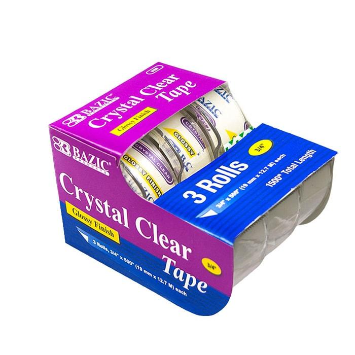 cheap clear tape