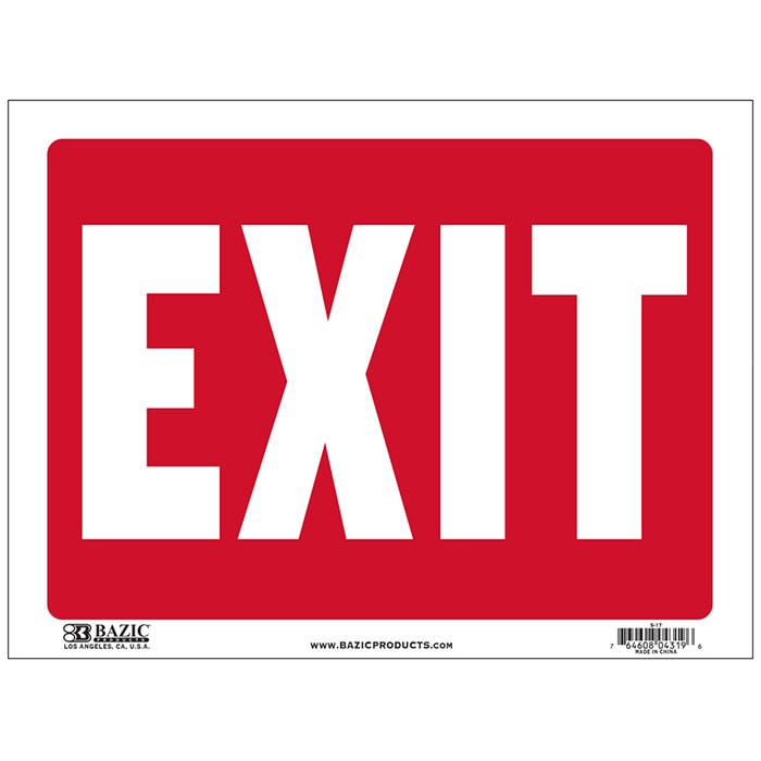 Cheap Exit Signs