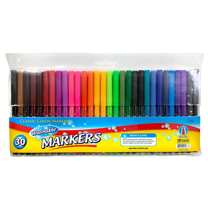 Cheap Washable Markers - 30 Pack