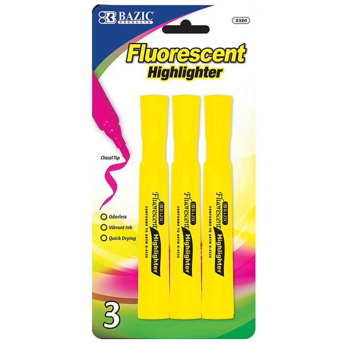 Cheap Yellow Highlighters