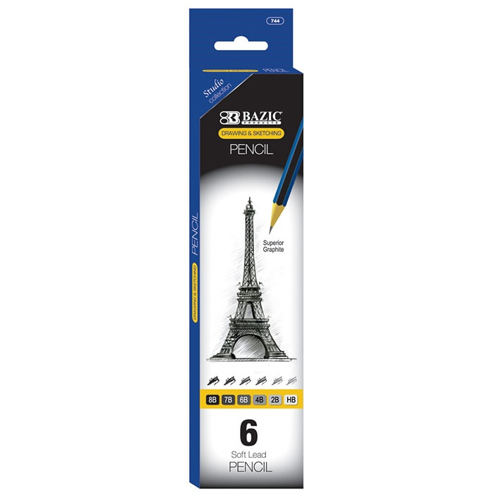 cheap soft lead pencils