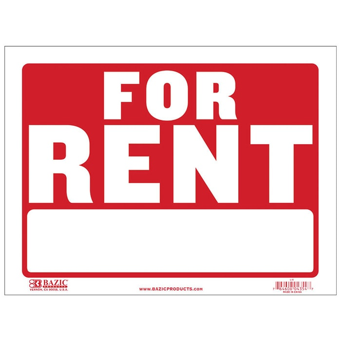 Cheap For Rent Signs