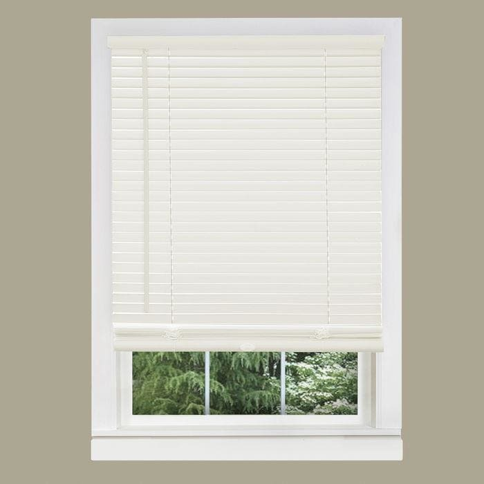 "Cordless Vinyl Mini Blinds, 72"" Length"