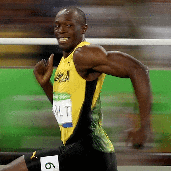 usain bolt running meme template