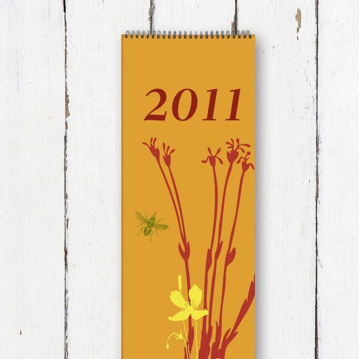 Kalendergestaltung, orangerie-gfrafikdesign, heike Börner