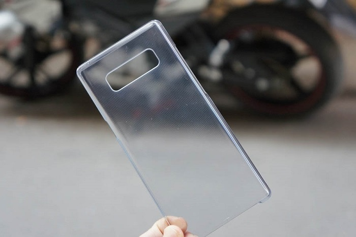 Ốp lưng Clear Cover Note 8