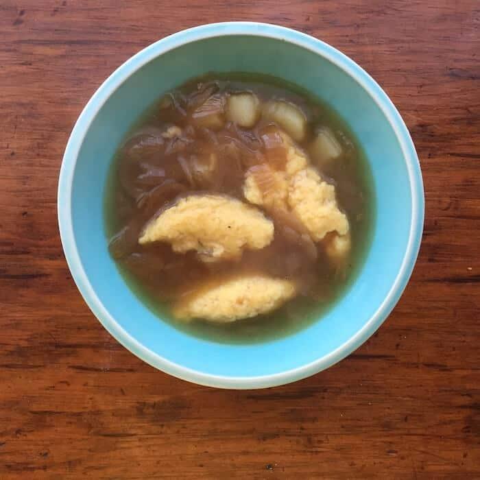 Onion Potato Soup Recipe, super good.