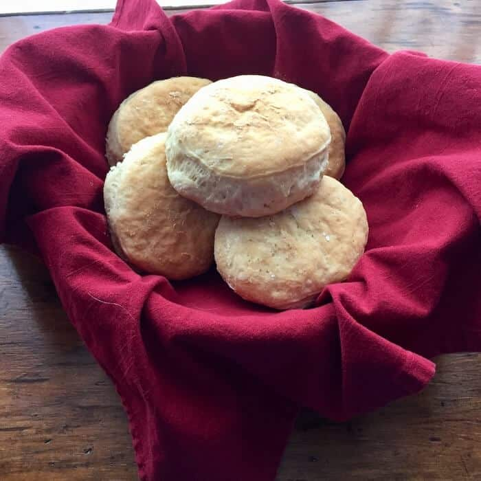 Don's Homemade English Muffins are good for breakfast, lunch or supper.
