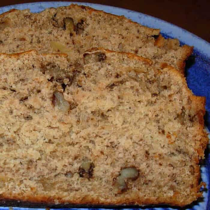 Grandma's banana bread. So easy and delicious.