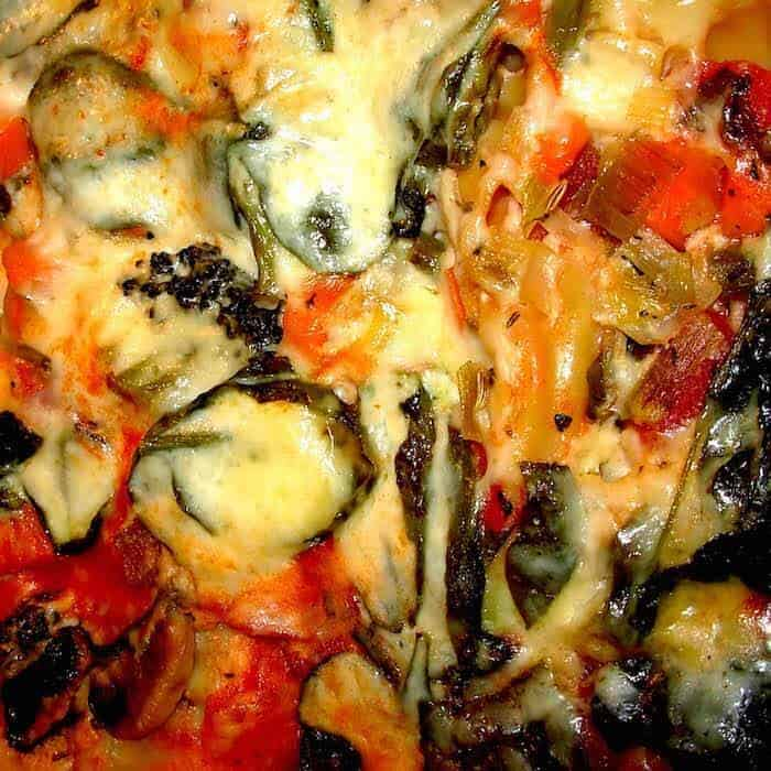 Vegetable Lasagna Bechamel