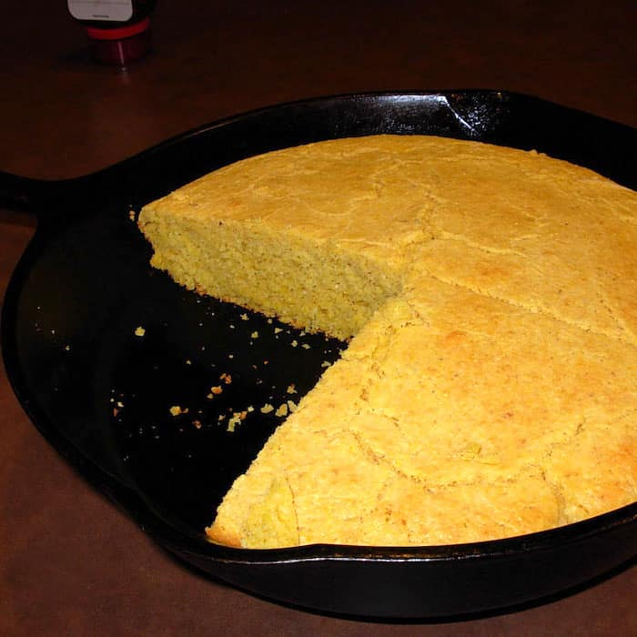 This Cornbread Recipe (Easy) is super good.
