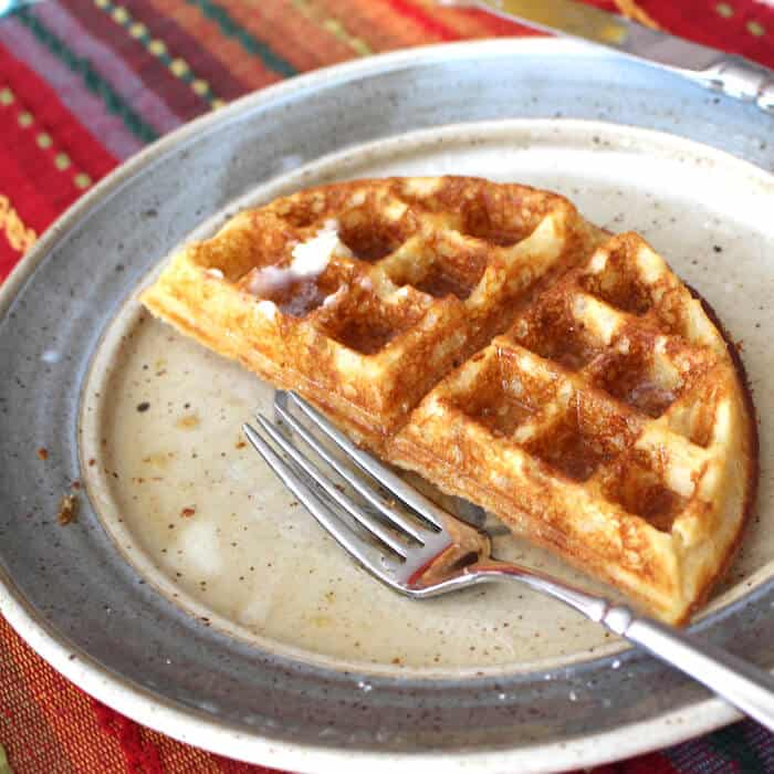 Light Fluffy Gluten Free Waffles
