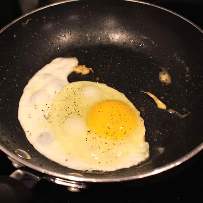 Fried Egg (in process).