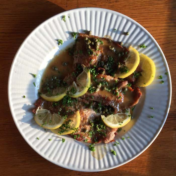 Veal Piccata is a main dish I could eat weekly. 30 minutes. SO tasty.