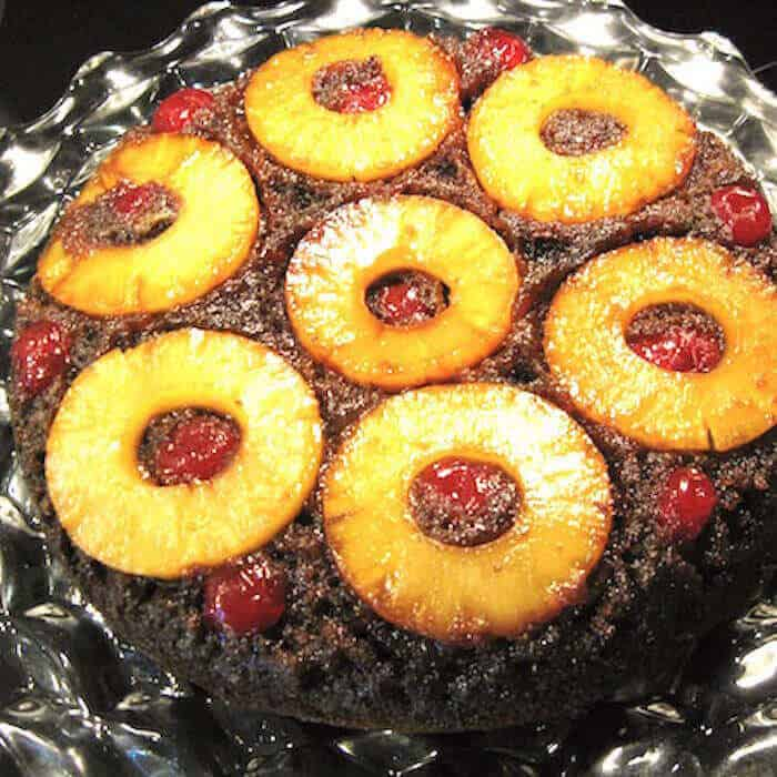 Gingerbread Pineapple Upside Down Cake