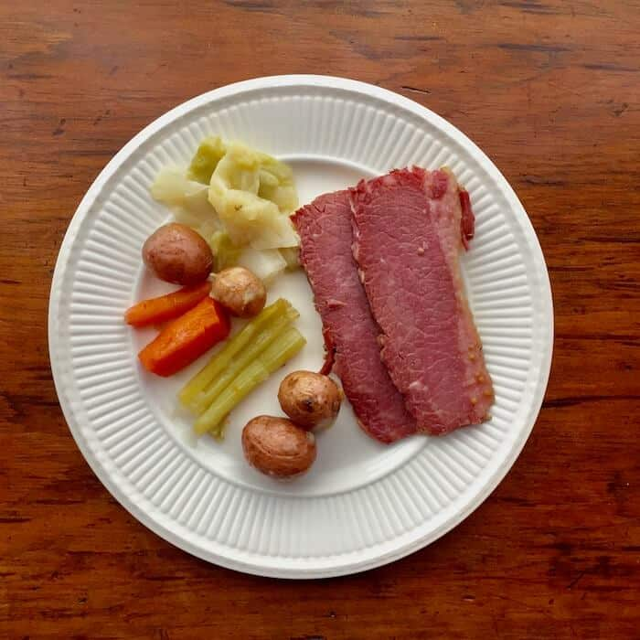 Instant Pot Corned Beef Dinner. Perfect!