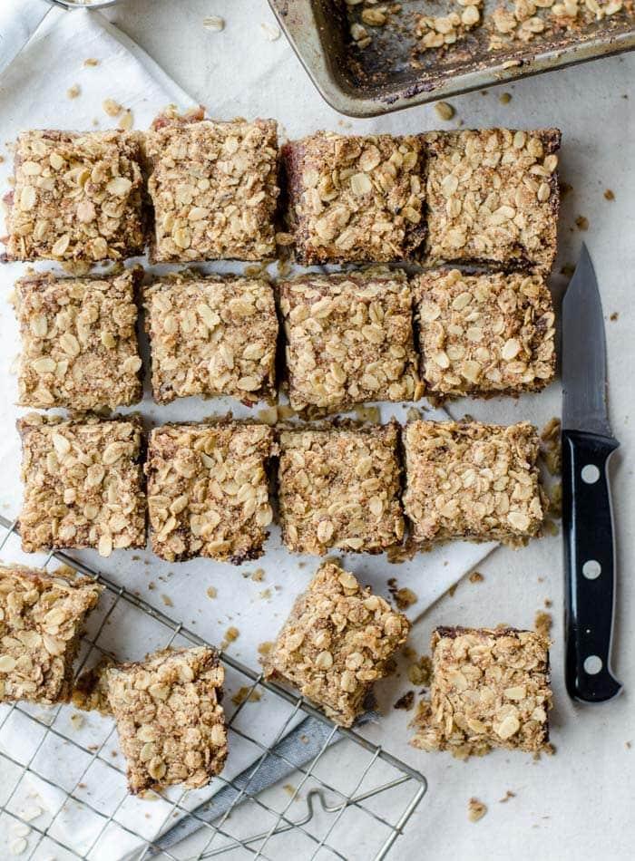Gluten-Free Vegan Date Squares