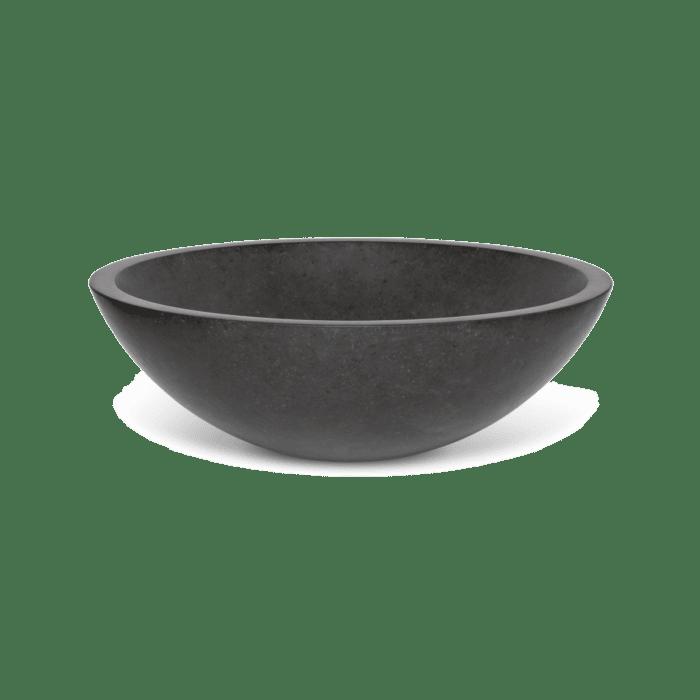 Adria Stone Basin - Black Basalt