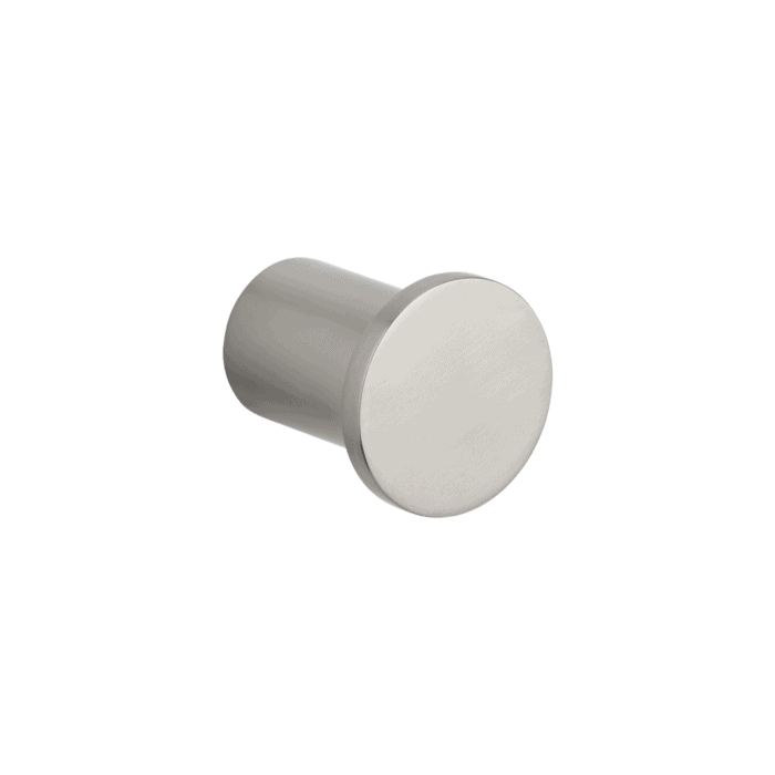 Otto robe hook - brushed nickel