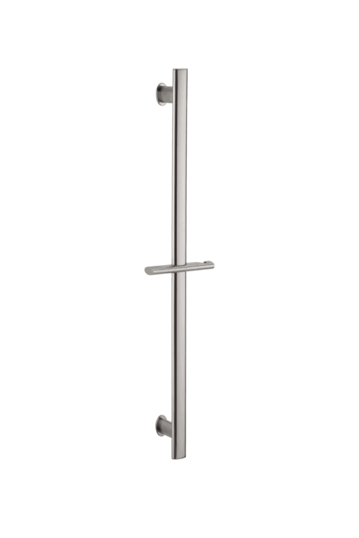 Uri Oval Shower Rail - Brushed Nickel
