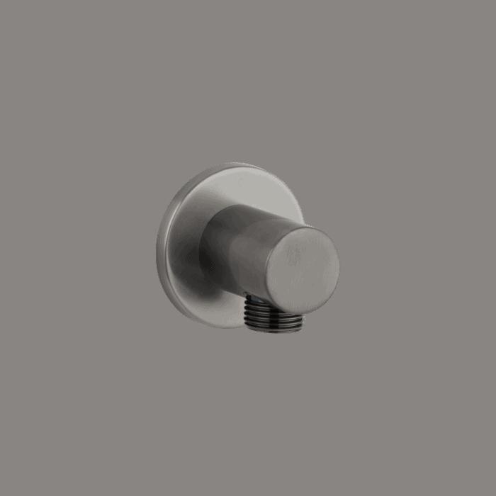 Zana Round Shower BP - Gunmetal