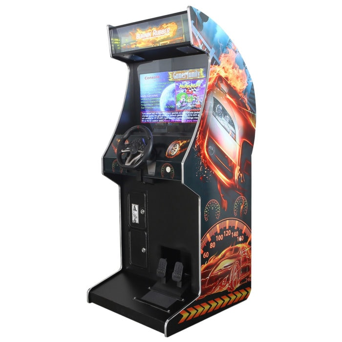Arcade Rewind 107 Game Driving Upright Arcade Machine