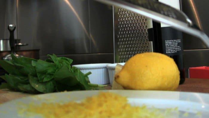 spaghetti lemon