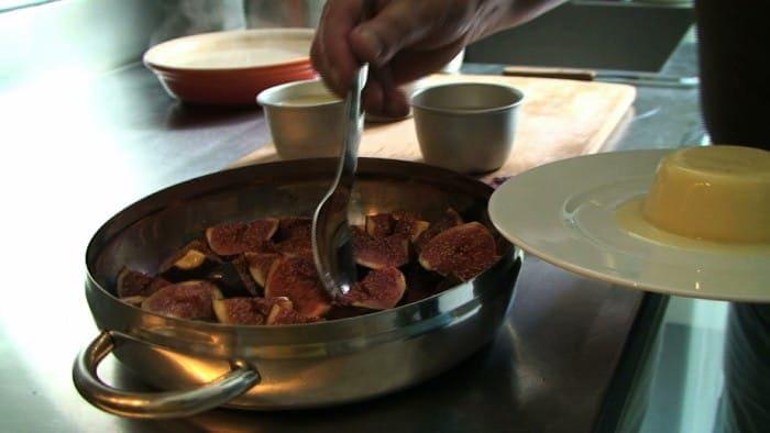 receita de panna cotta com figos