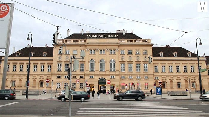 museumsquartier em viena