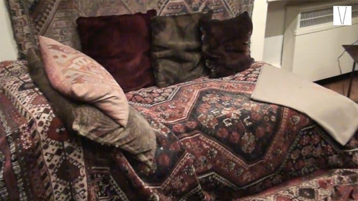 divã no museu de freud