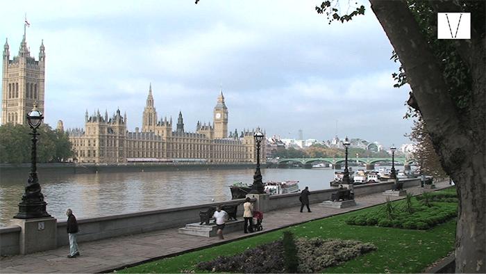 parlamento e rio tâmisa