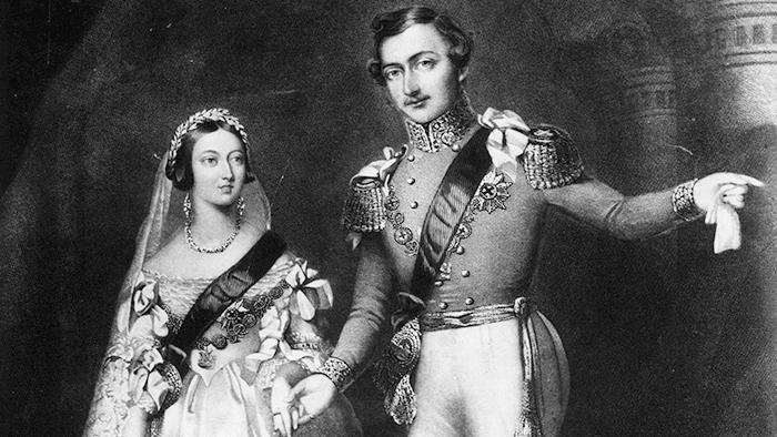 rainha victoria e principe albert