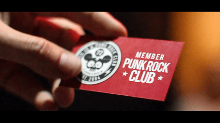 This is a Punk Rock Club