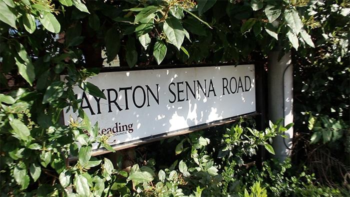 Ayrton Senna Road - Reading