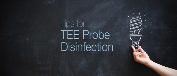 tips for tee probe disinfection