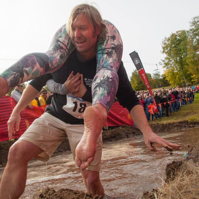 wife carrying, unusual sports
