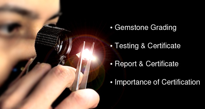 gemstone certification