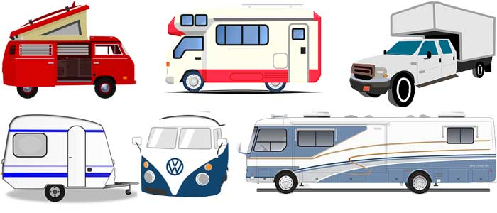 RV and Camper types