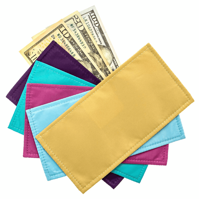 Purple Mountain Goods Magnetic Cash Budgeting Envelopes