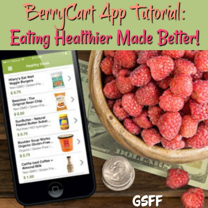 This BerryCart App Tutorial will have you saving money while on your way to a healthier lifestyle!  It's a super easy way to buy healthier food for less.