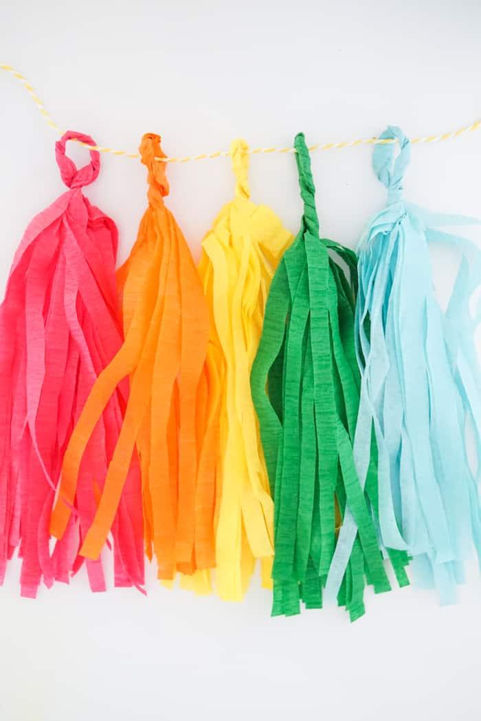 Colorful Tassels