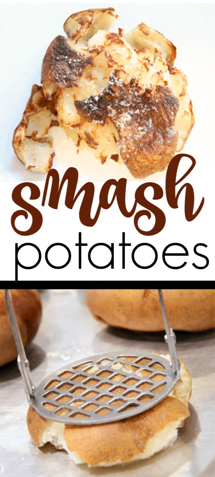 Roasted Smashed Potatoes are a perfect side dish. They are crispy, creamy, buttery and all kinds of smashed potato goodness.