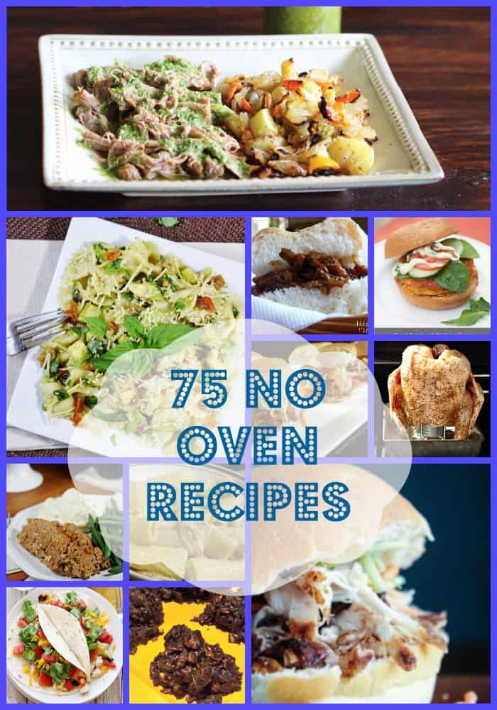 75 No Oven Recipes