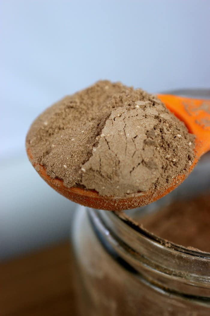 DIY Hot Chocolate Mix Tablespoon