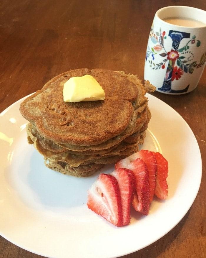 Plantain Pancakes Made in a Blender (Grain Free)
