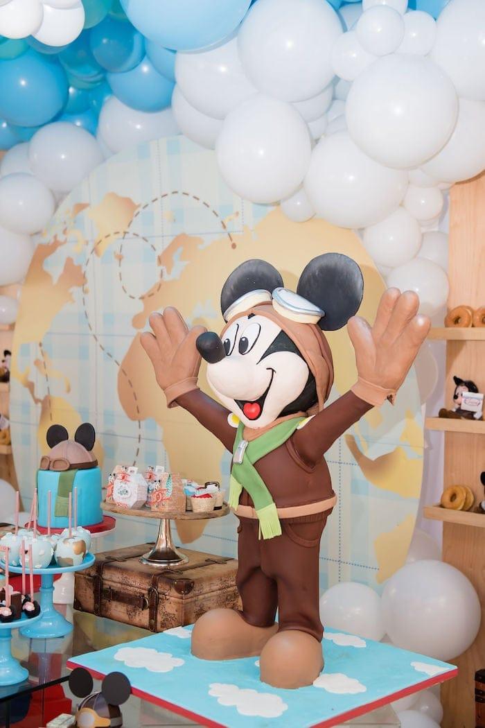Aviator Mickey Mouse Decor