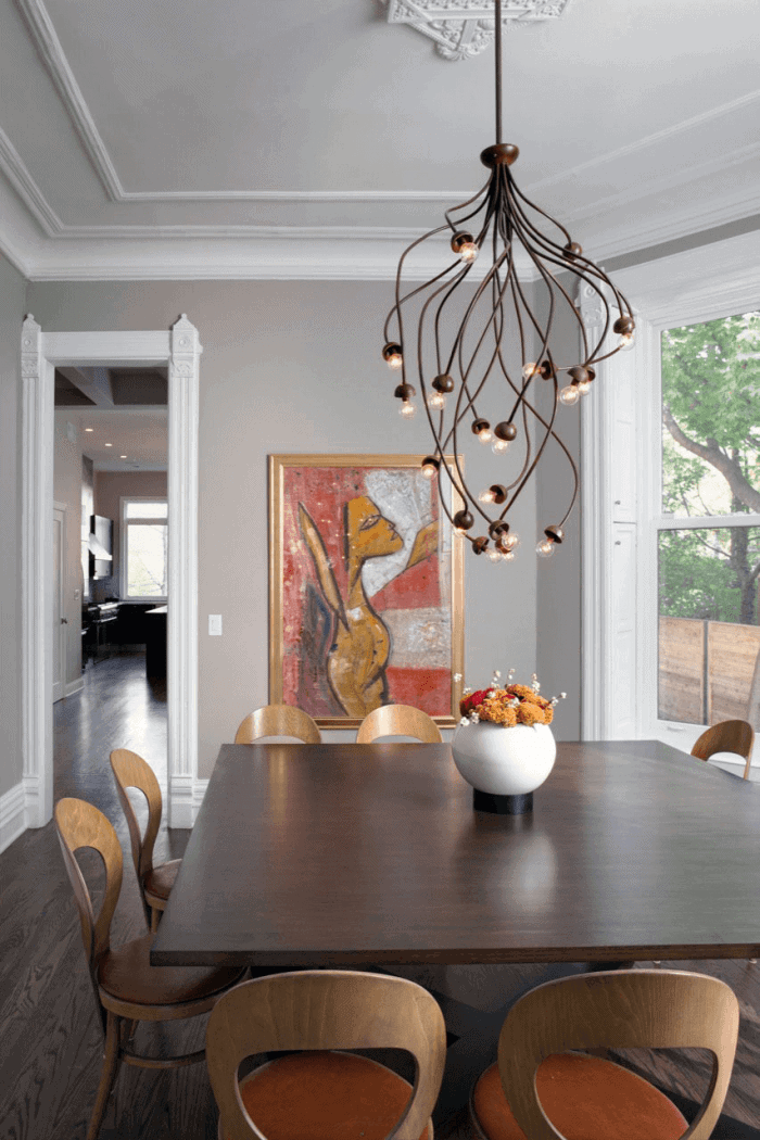 Lighting fixtures dining room small spaces Fascinating Ivys Shaped Unique Chandeliers