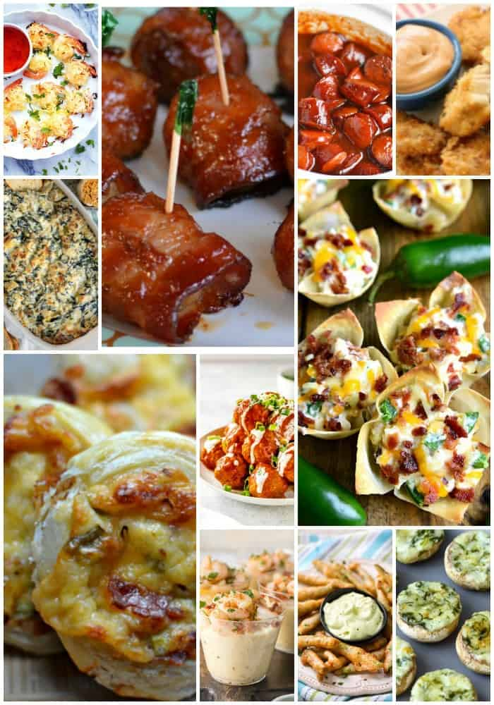 Delicious Fall and Winter Party Appetizers